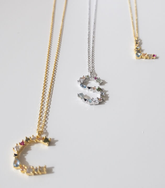 initial jewelry necklaces trend this summer